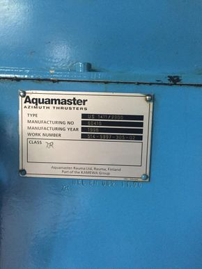 Aquamaster Azimuth Drive