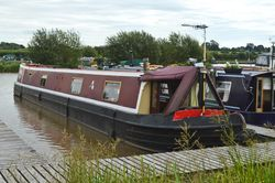 62ft 6in Two Bedroom Trad Stern Narrowboat