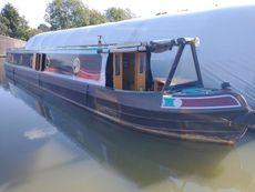 Queenborough 56' Trad Narrowboat
