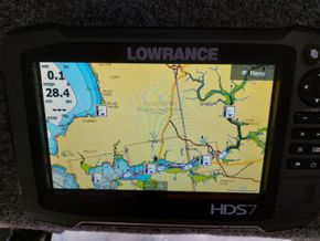 Birchwood 25  - Navigation Instruments