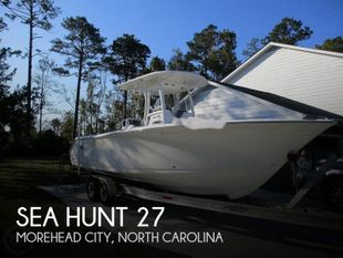 2014 Sea Hunt Gamefish 27