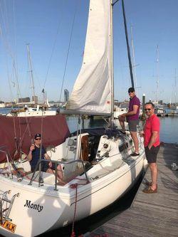 Enter sailing Jaguar 24 Family to Racing