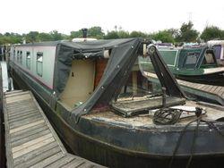 """Lady Pink""  1985-  60ft Traditonal stern narrow boat (Project Boat)"