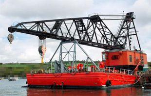 1952 Crane Barge