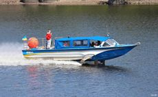 Small commercial hydrofoil boat