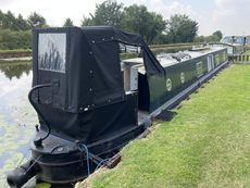 58ft Cruiser Stern Narrowboat built by Liverpool Boats