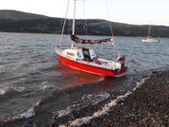 "Westerly Nimrod trailer sailer   ""Little Bonnet"""