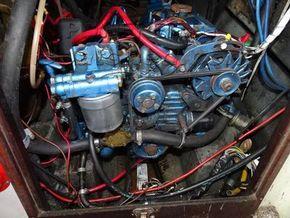 Westerly Centaur  - Engine