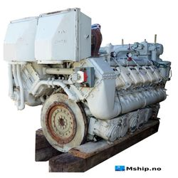 Deutz MWM TBD604 BV12 V12