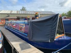 Cruisers stern 45 ft Speckled hen