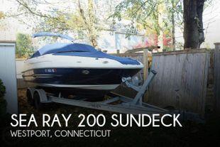 2011 Sea Ray 200 Sundeck