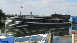 20mx4.3m british built barge 1964