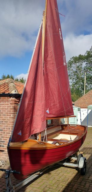 Norfolk Cockle sailing dinghy boat WANTED!