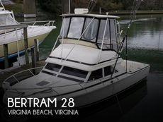 1991 Bertram FB Cruiser 28