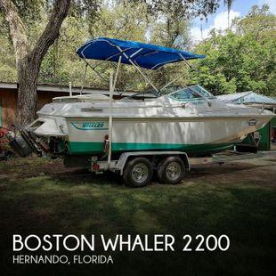 1987 Boston Whaler 2200 Temptation MPFI