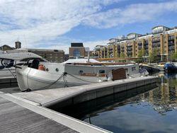 Dutch Barge Central London Mooring