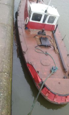 48ft Steel Work Boat