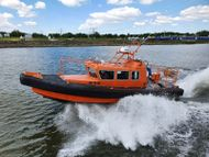 10 mtr. Inboard Diesel Waterjet Rescue Cabin Boat for sale