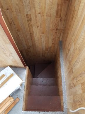 Stairs To Lower Deck