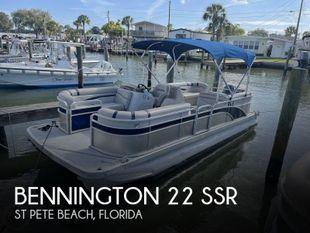2017 Bennington 22 SSR
