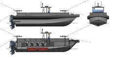 10 mtr HDPE Patrol Boats