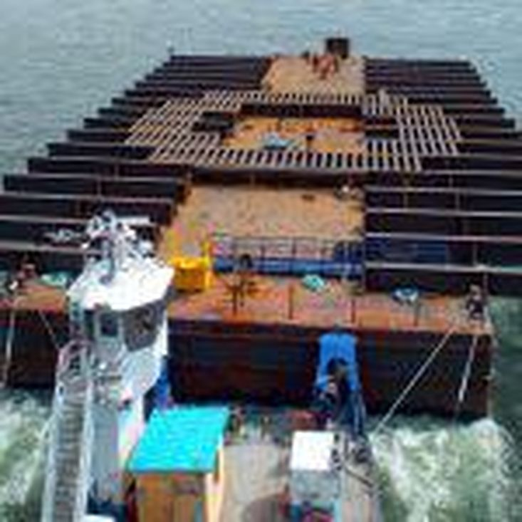 1998 192.9′ x 60′ x 14′ ABS Deck Barge