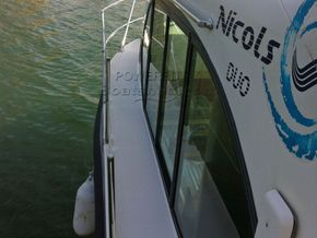 Nicols Estivale Duo Canal and river cruiser - Side Deck