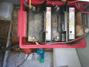 2x 80Ah battery bank