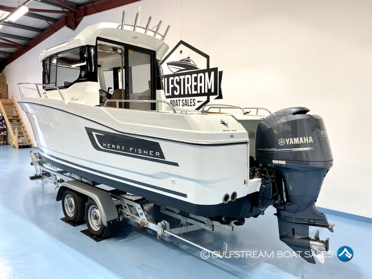 2016 Jeanneau Merry Fisher 695 Marlin with Yamaha 150HP