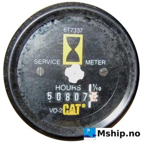 Caterpillar 3412   hour meter