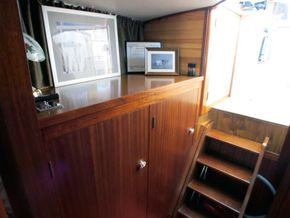 Patrol Vessel 55ft with Residential Mooring - Interior