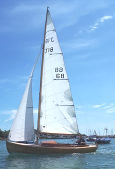 20ft J18 Classic wooden open day boat