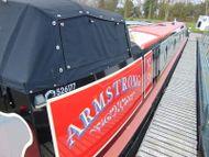 'Armstrong' 2017 60ft 4 berth - Semi Trad stern