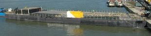 70M X 22M FLAT TOP DECK BARGE ONLY FOR CHARTER