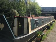 69' narrowboat with London mooring