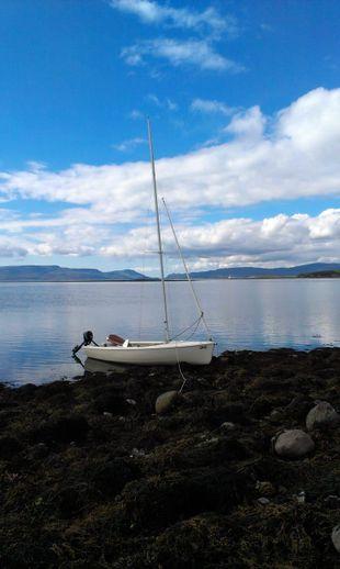Victoria 16 sailing dinghy