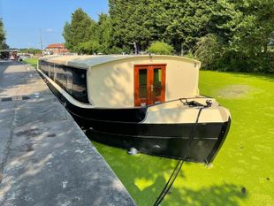 THE RAWCLIFFE - 70' x 12'3 Widebeam Liveaboard built by CBB