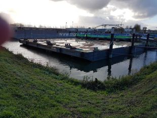 25m x 8m Inland Pontoon Barge