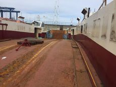 26.5m Floating Bridge-Chain Ferry - car and passengers