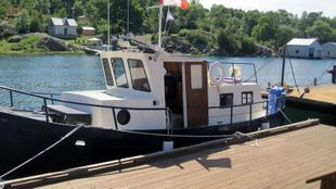 1989 32′ X 10'4  Steel Pleasure Trawler