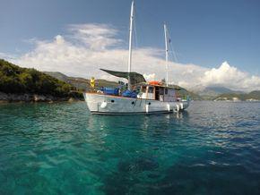 Off the Lefkada coast