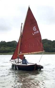 "Lytham Pilot 12ft dingy ""Swallows and Amazons Forever"""