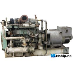 Mitsubishi engine with 260 kWA generator