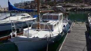 Converted Lifeboat to Sail Motor boat