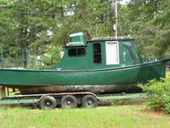 1928 26.5' Steel Replica Tugboat