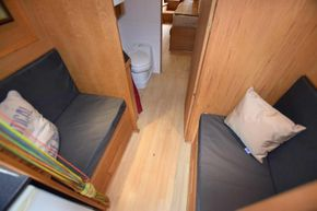 Midships cabin