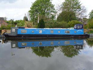 52ft Semi trad Narrowboat built 1993 by N Hudson Narrowboats
