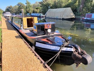 LUCY CROWN 60' Trad Tug Deck Narrowboat By Warwickshire Fly Boat Co