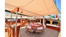 33mt STEEL LUXURY MOTORSAILER