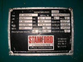 volvo penta d16 mg with stamford